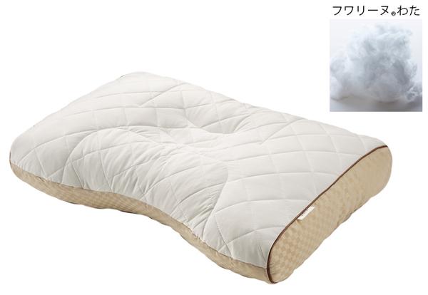 ファインスムーズ FA7010 ベーシッククオリティ フワリーヌ®わた枕